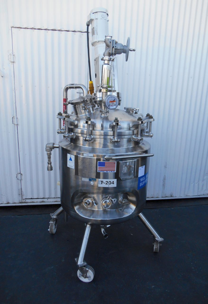 150 liter Precision Reactor w/ Mixer