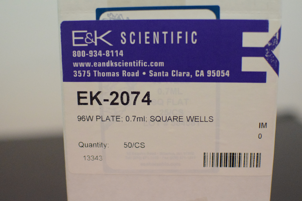 Lot of various Multiscreen EK Scientific 96-well plates
