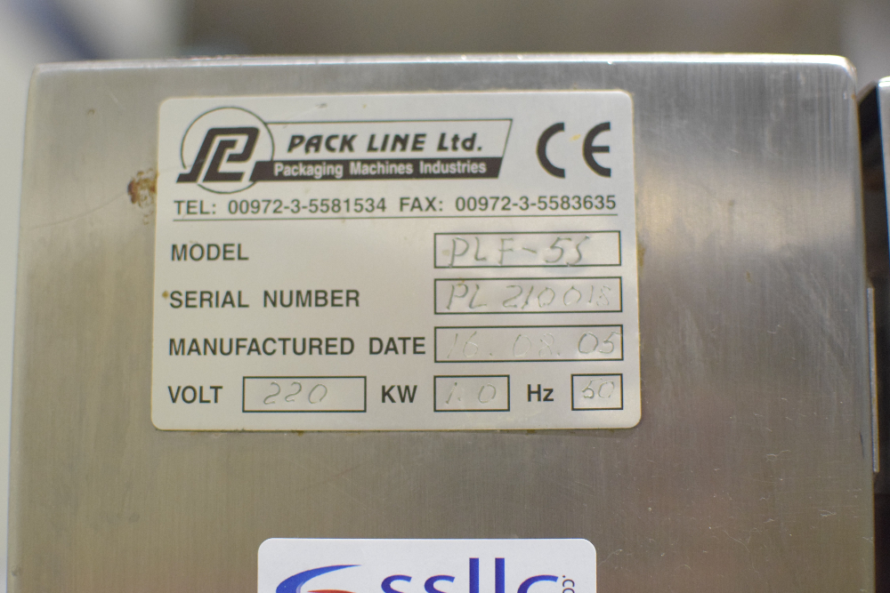 Pack Line PLF-5S Semi Automatic Filling & Sealing Machine
