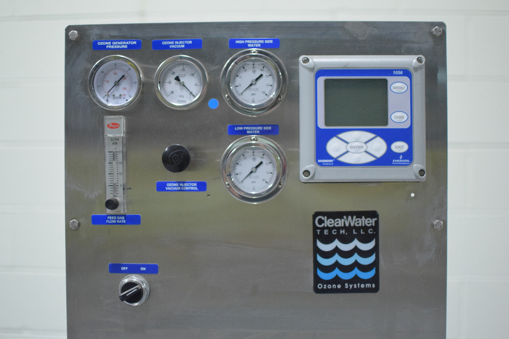 ClearWater Tech HD03-III Dissolved Ozone System