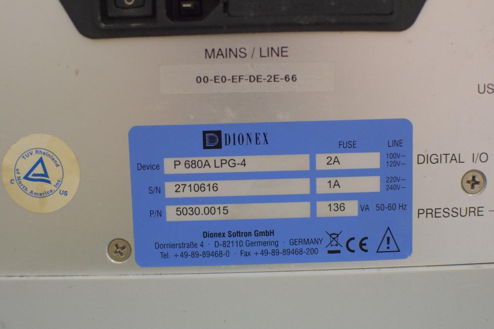 Dionex  ASI-100 Autosampler HPLC System