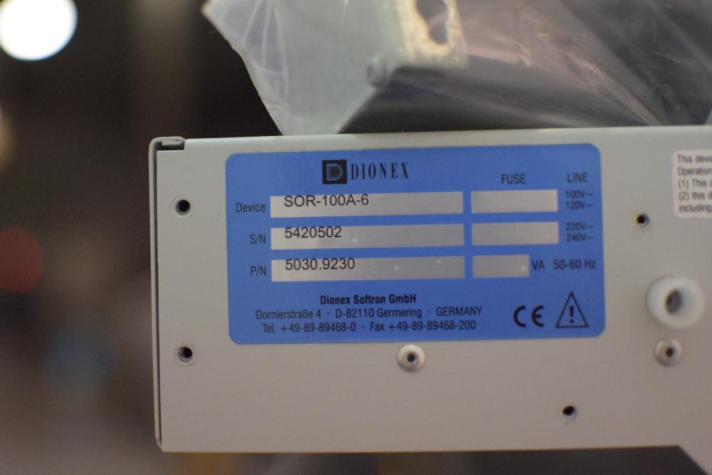 Dionex SOR-100A-6 Solvent Rack