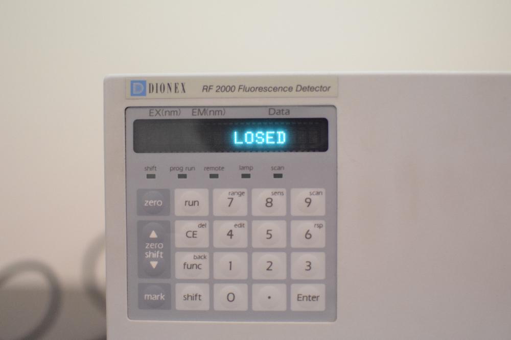 Dionex RF 2000 Fluorescence Detector