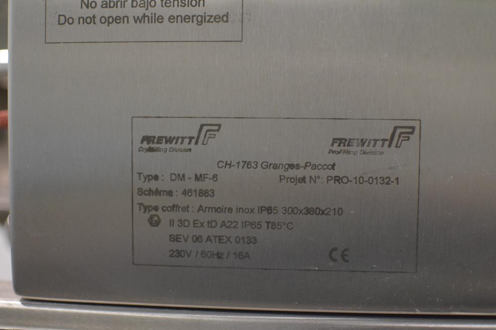 Frewitt MF-6 DryMilling Granulator