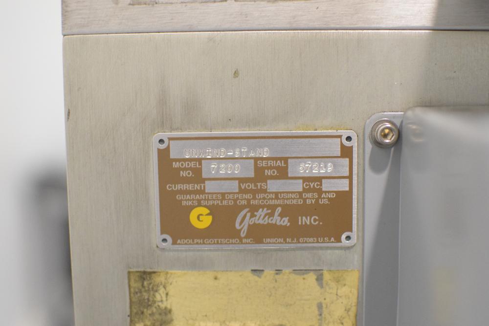 Gottscho Platen Printer Model 812-11.2