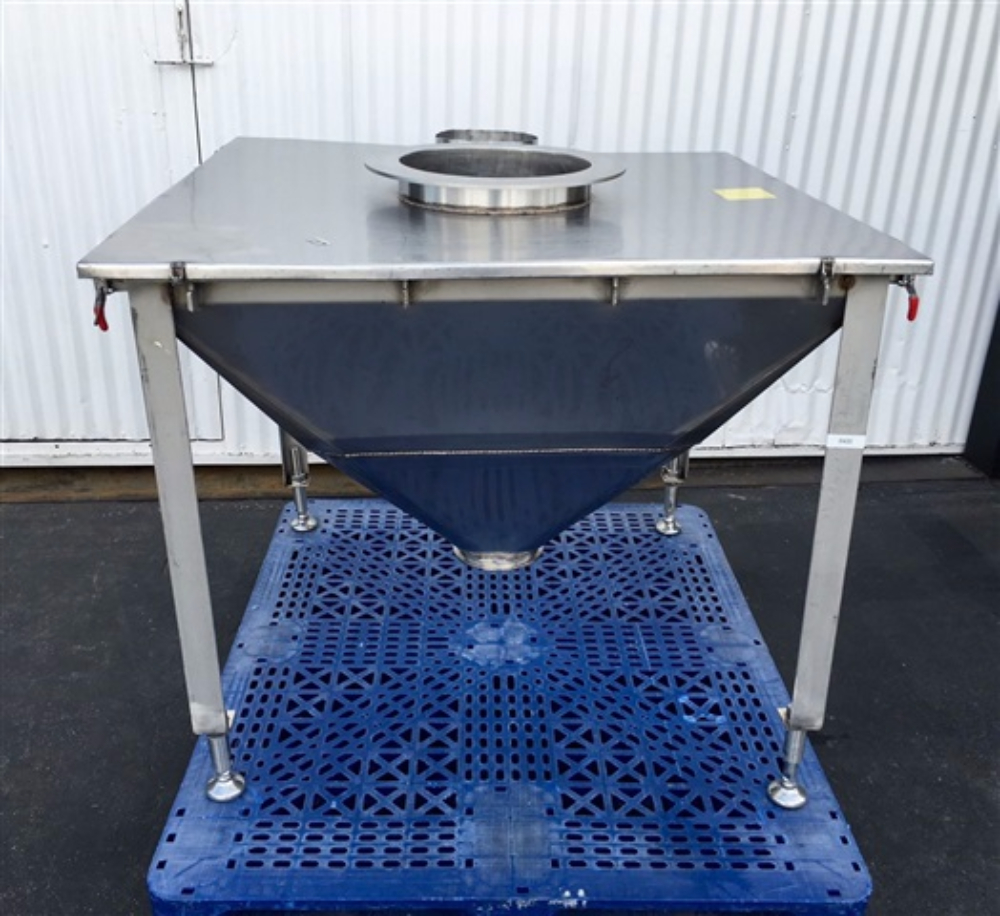 Flexicon Stainless Steel Hopper