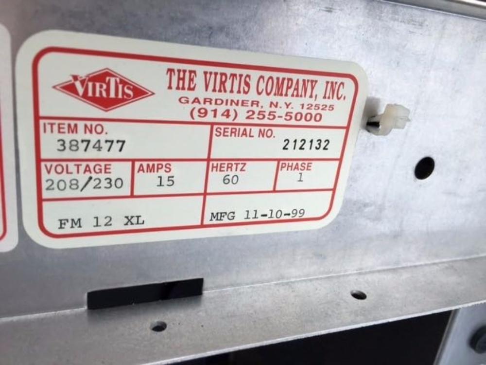 VirTis FM 12XL Lyophilyzer