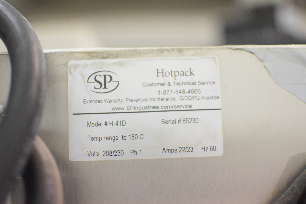 Hotpack H-41D Large Capacity Glassware Dryer