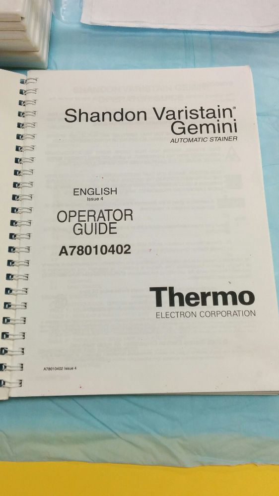 Varistain Gemini ES Automated Slide Stainer