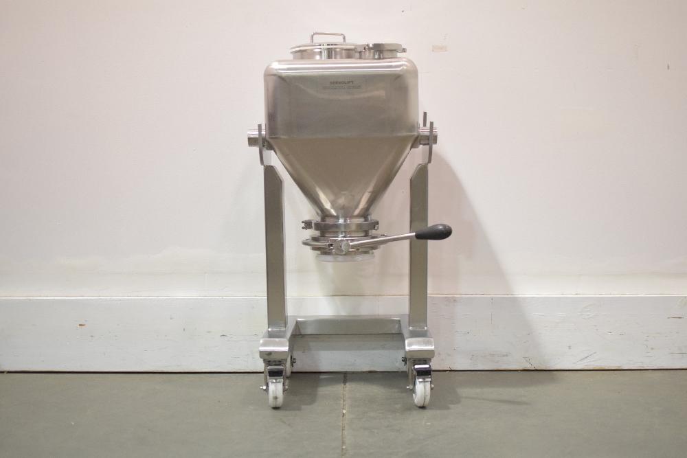 Servolift 50 Liter Stainless Steel IBC Bin