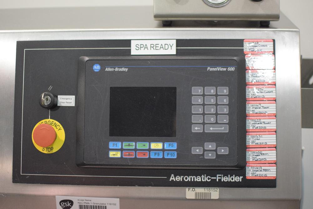 GEA Niro Pharma Systems PMA-1 High Shear Processor