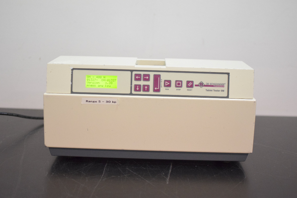 Dr. Schleuniger 8M Tablet Hardness Tester