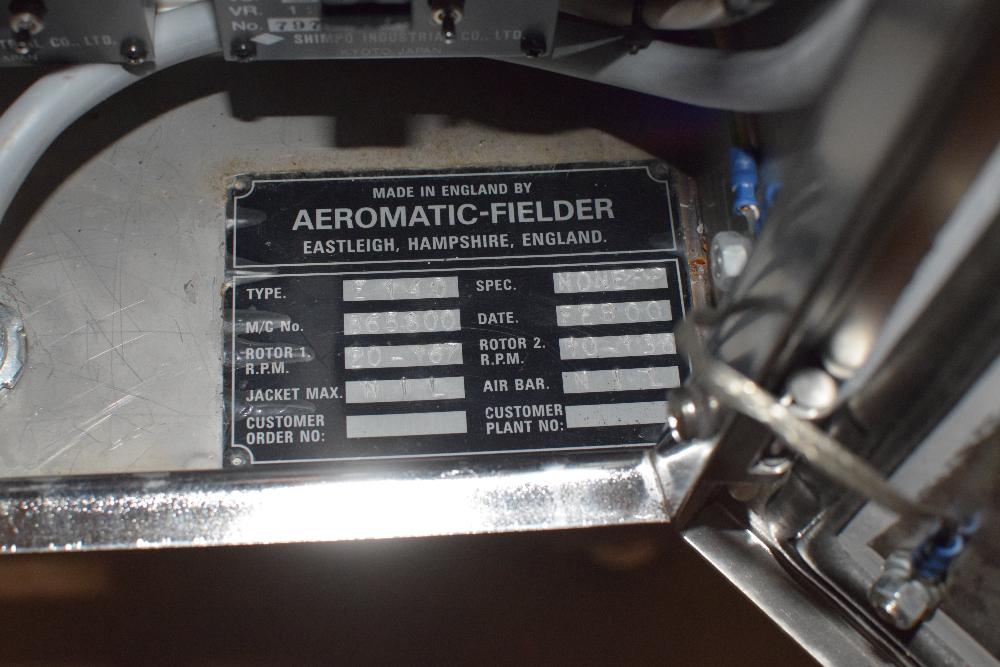 Niro Aeromatic-Fielder Nica E-140 Extruder