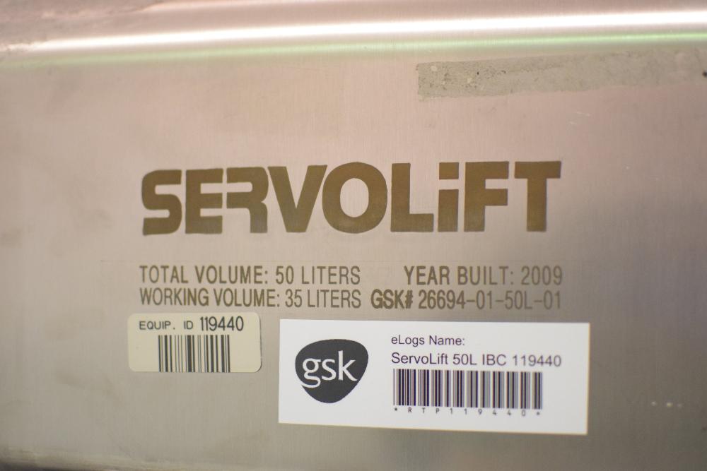 Servolift 50L IBC Bin