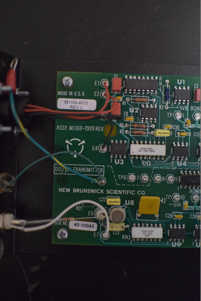 New Brunswick Bioflo 3000 DO/PH AMP Board