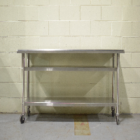 Generic Stainless Steel Lab Table