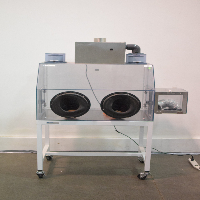 Terra Universal 3305-00D-OL Glove Box Series 100 with Stand