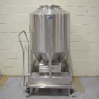 Bohle 950 Liter IBC Bin with Cart