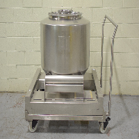 Bohle 400 Liter IBC Bin with Cart