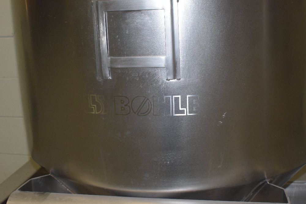 Bohle 400 Liter IBC Bin with Cart