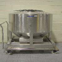Bohle 950 Liter IBC Bin with Cart