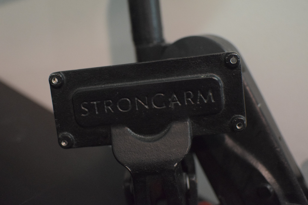 Dell LCD monitor with mounted StrongArm