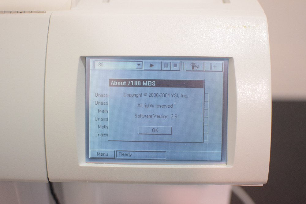 YSI 7100 Analyzer
