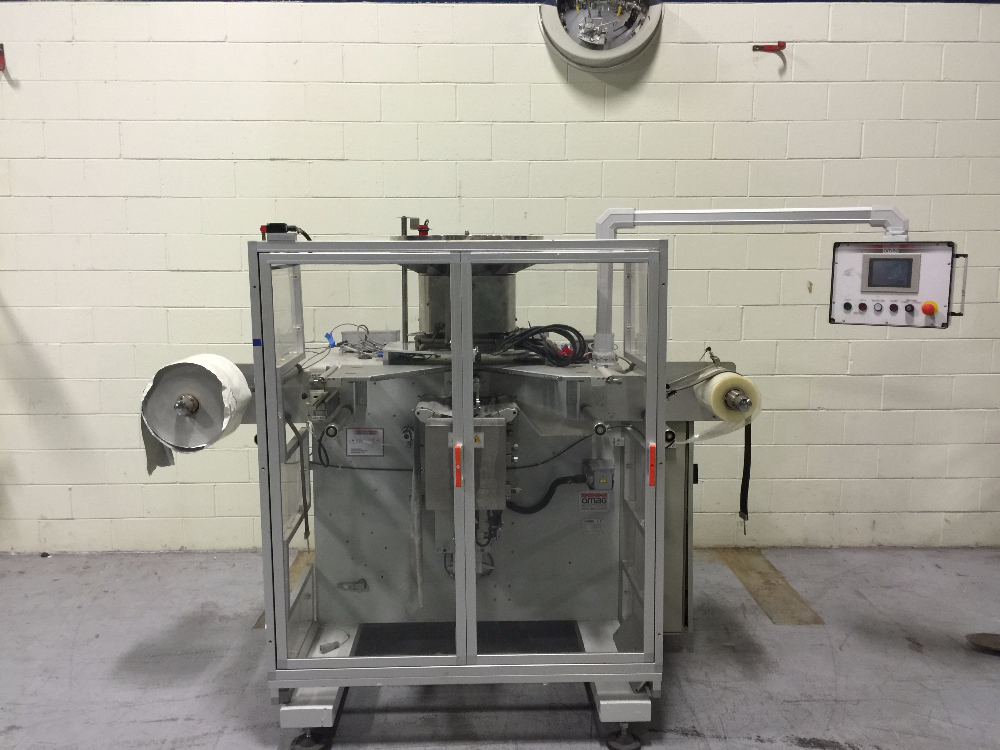 Omag C3/6 Vertical Form Fill & Seal Machine