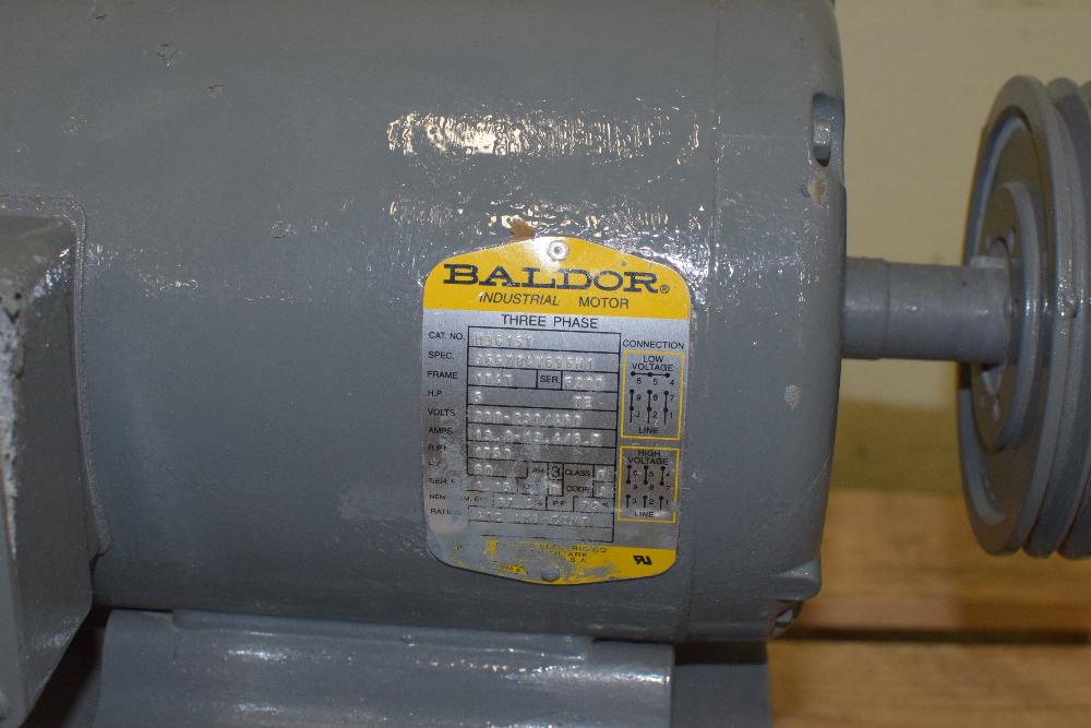 Baldor Industrial 5HP 184T Motor