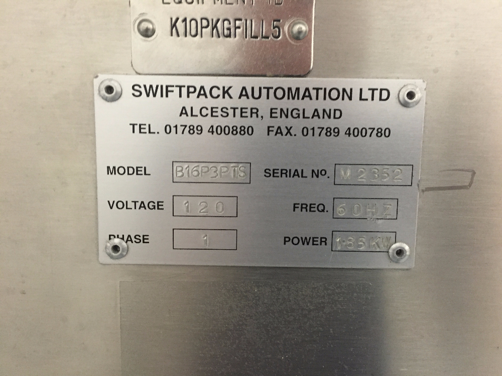 Swiftpack Dual Head 16 Lane Tablet Counter