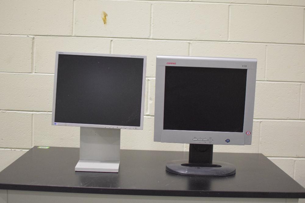 Lot of 2 LCD Computer Monitors