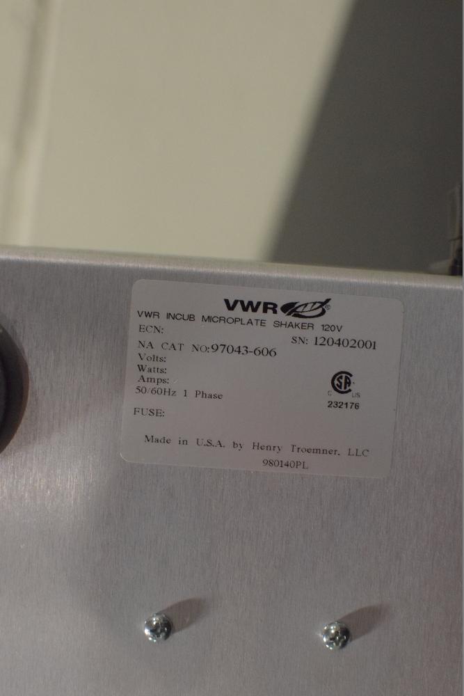 VWR Micro Plate Shaker