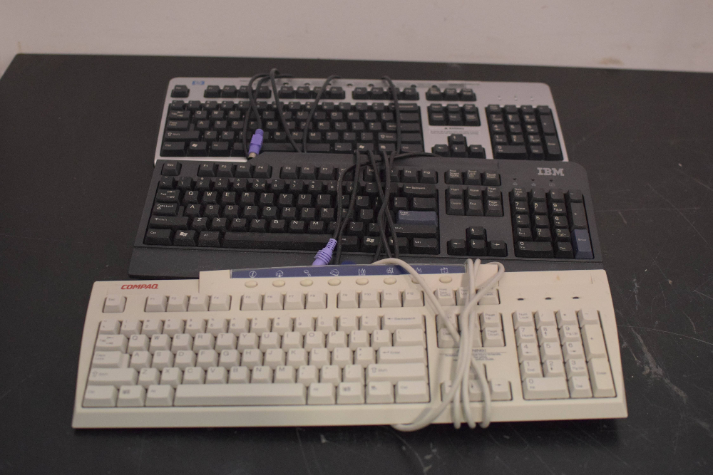 Lot of 3 Computer Keyboards