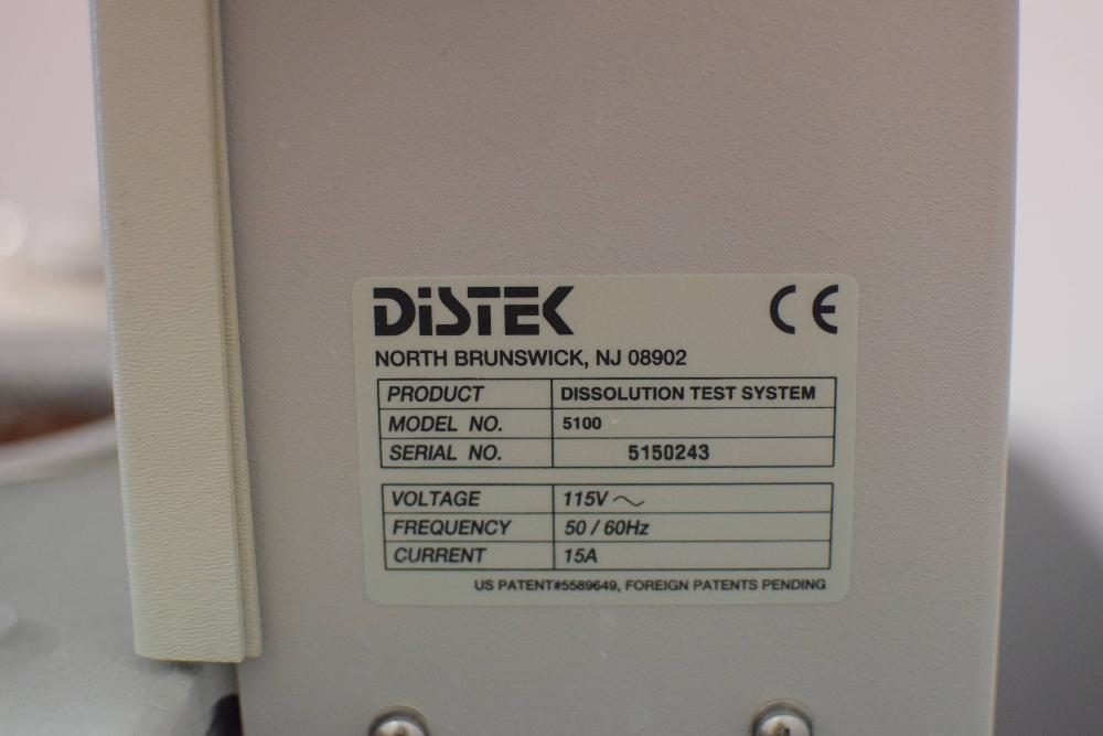 Distek 5100 Dissolution Test System