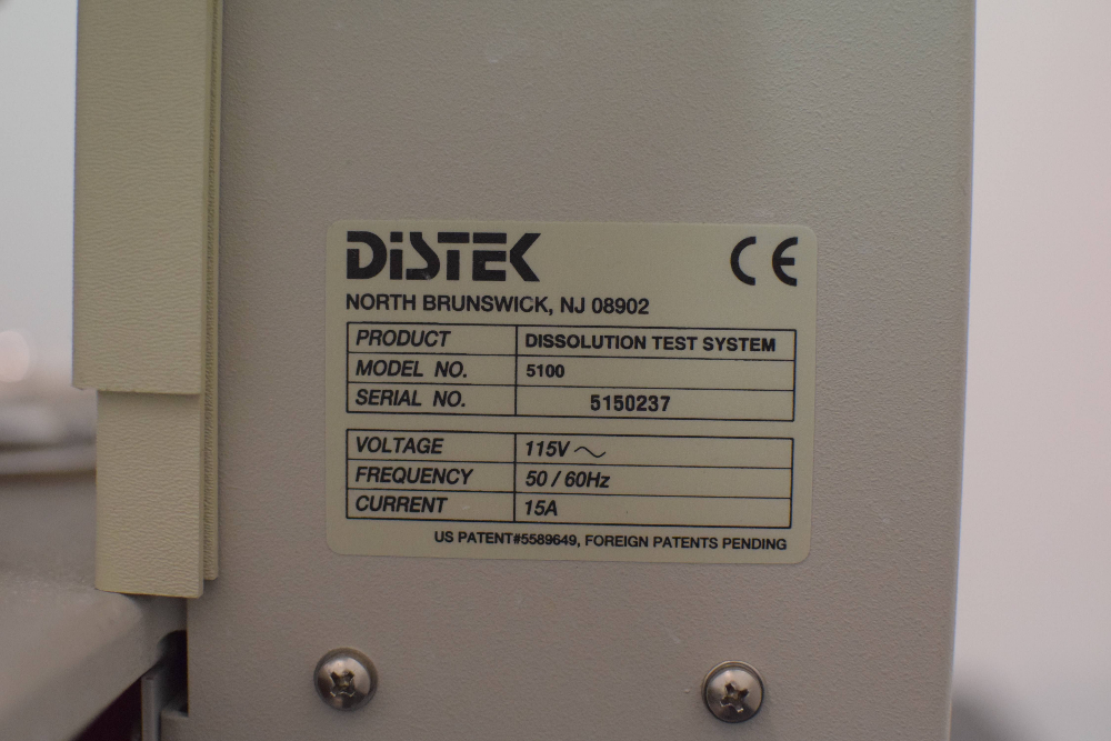 Distek Evolution 5100 Dissolution System
