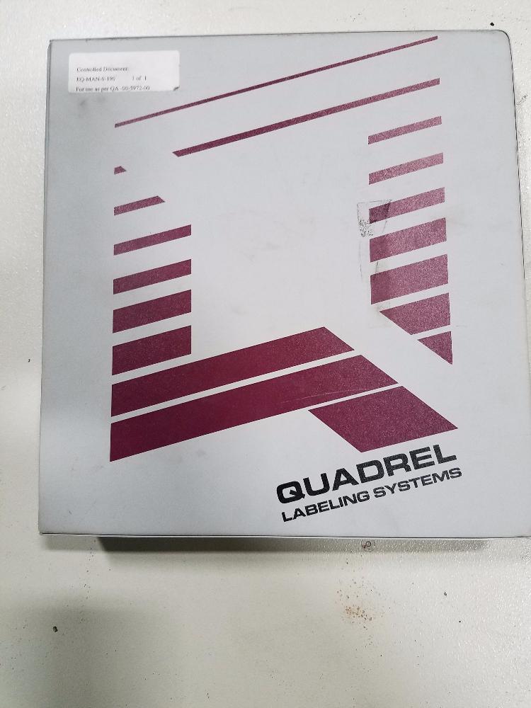Quadrel Q60 Versaline Labeler