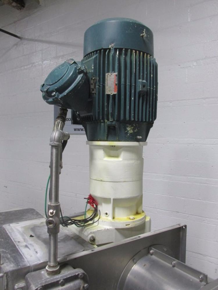 Teledyne Readco 75 Gallon Double Arm Sigma Mixer