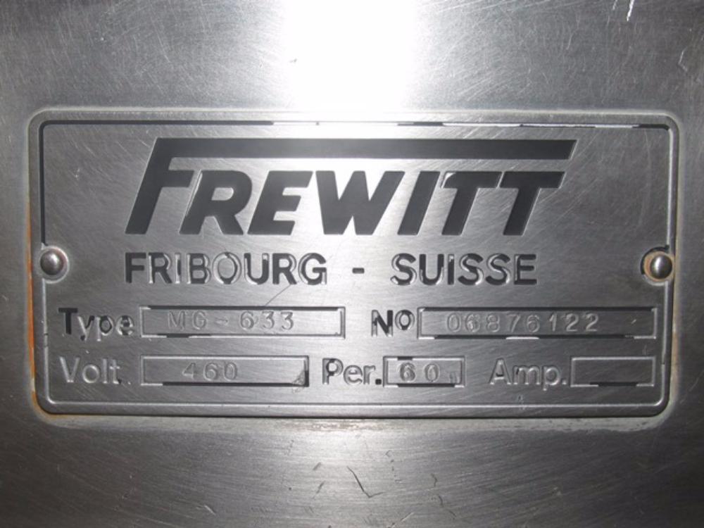 Frewitt Oscilator Granulator Model MG 633