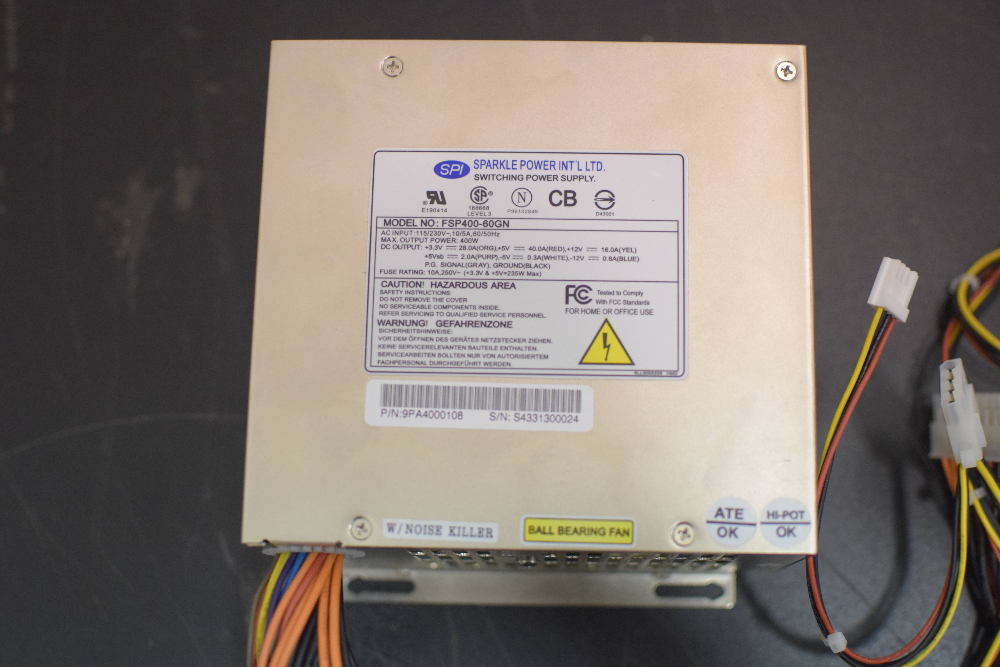Sparkle Power Int'l Switching Power Supply