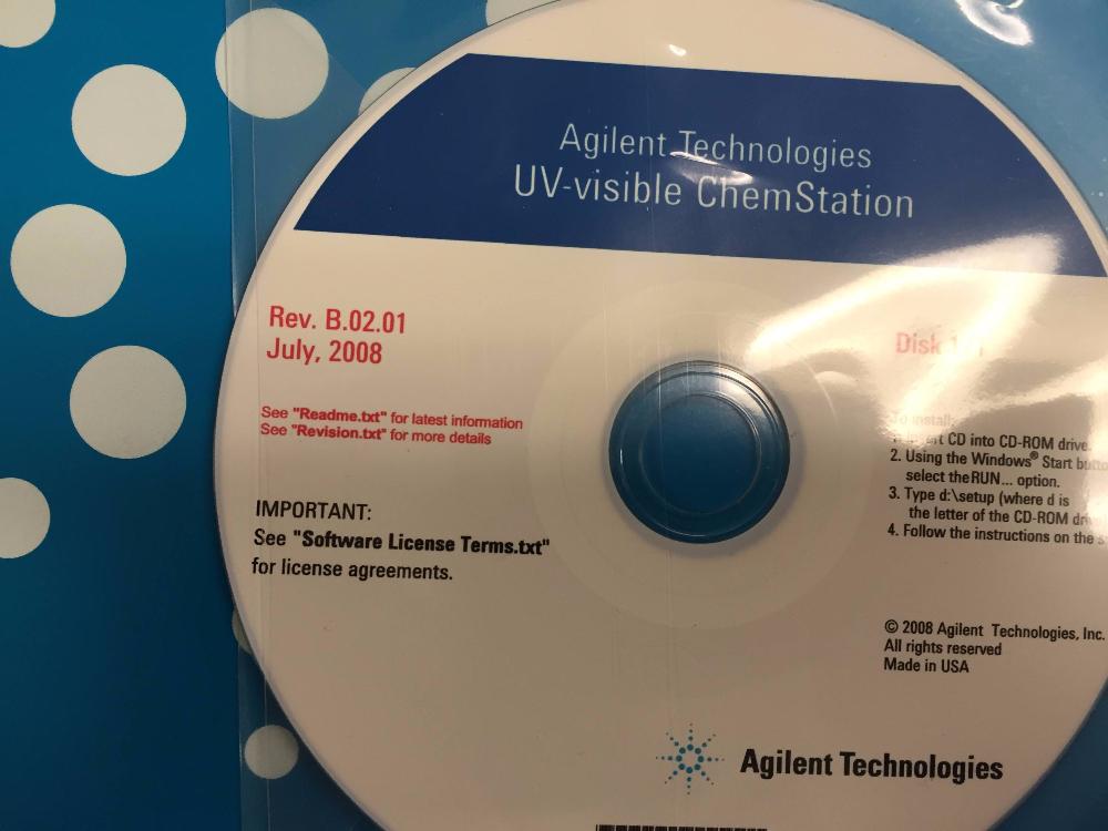 Agilent 8453 UV-VIS Spectrometer