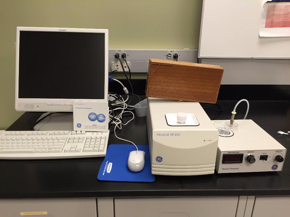 GE Healthcare MicroCal VP-DSC Microcalorimeter