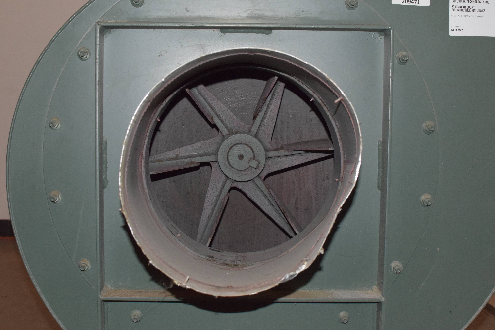 New York Blower model Series 20 GI Exhaust Fan