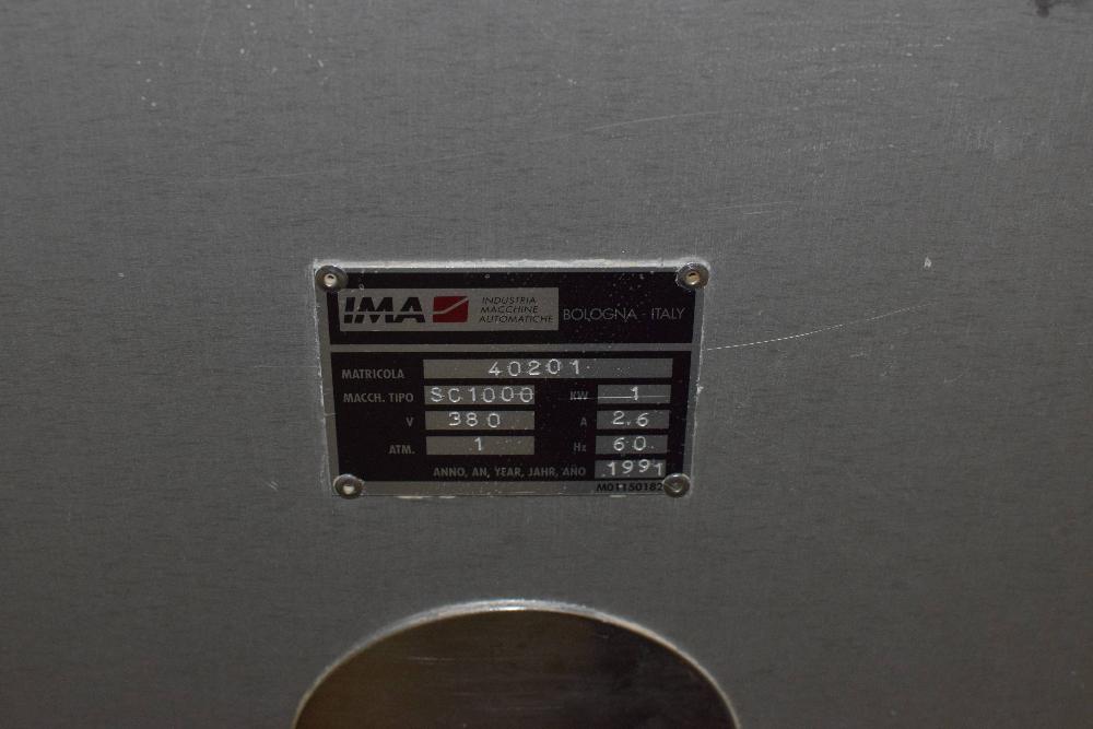IMA SC1000 Capsule Sorter