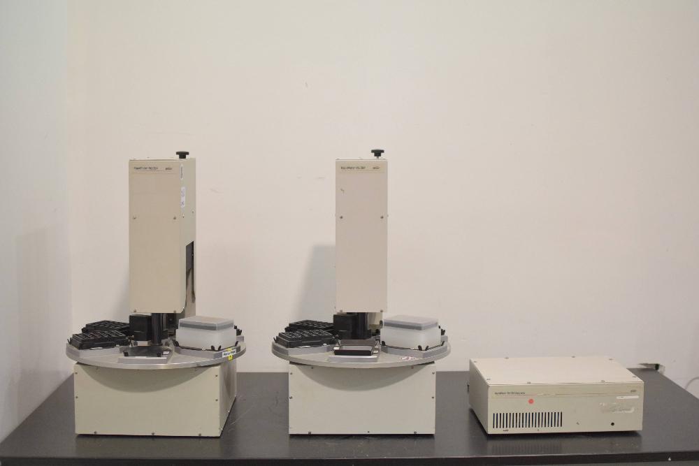 Lot of 2 Zymark RapidPlate -96/384 Plate Fillers