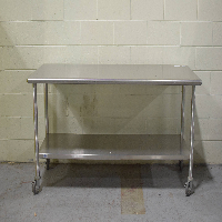 6 'Stainless Steel Table