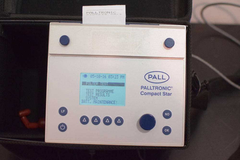 Pall Palltronic Compact Star Filter Integrity Tester