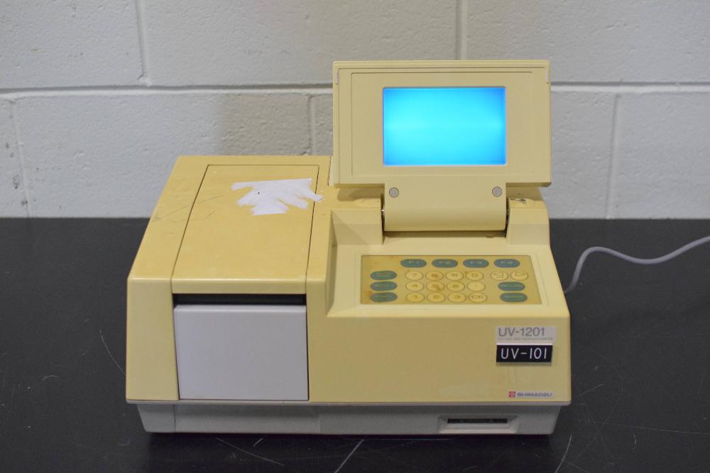 Shimadzu UV-1201 UV-VIS Spectrophotometer