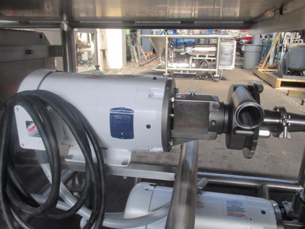Fristam Model 15-53 Powder Mixing System
