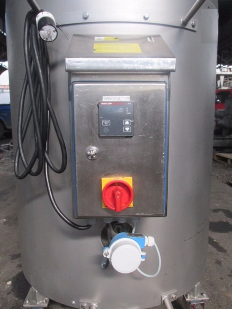 Bowa 200 Liter Jacketed Receiver Tank