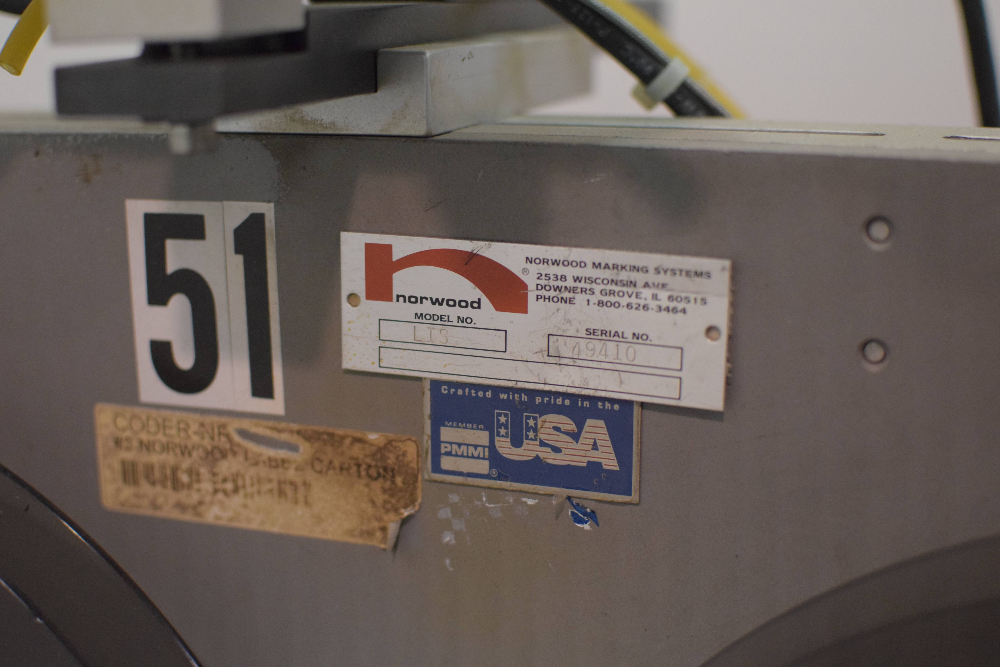 Norwood Marking & Equipment L.I.S. 400 Carton Labeler